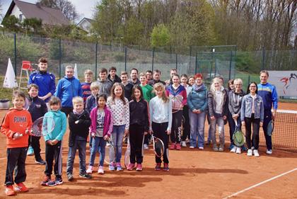Tennissaison der SG Westerwald eröffnet