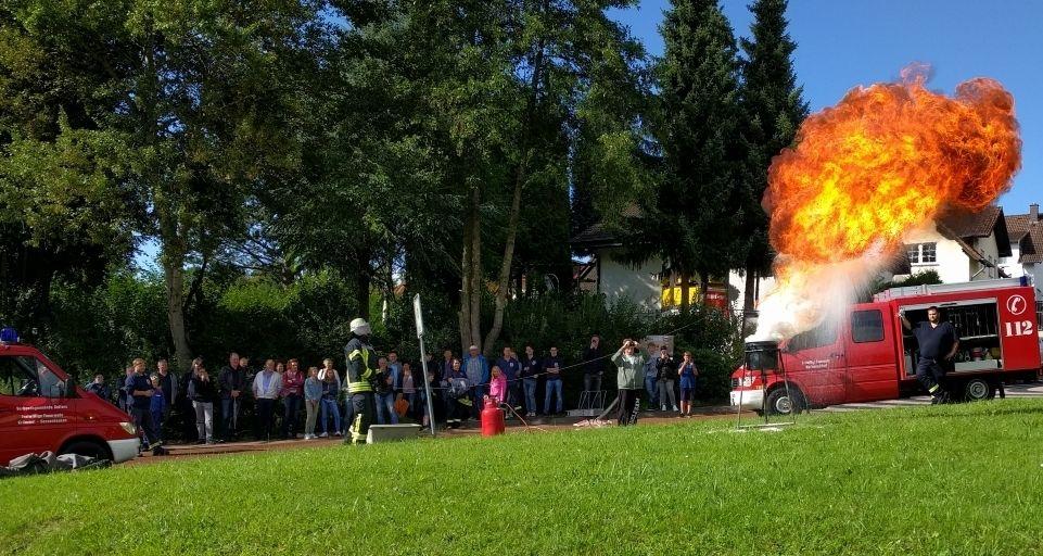 Sommerfest der Feuerwehr Krümmel-Sessenhausen am 17. August
