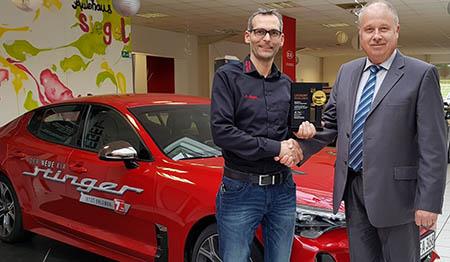 Autohaus Siegel gehört zu den drei besten Kia-Händlern Deutschlands