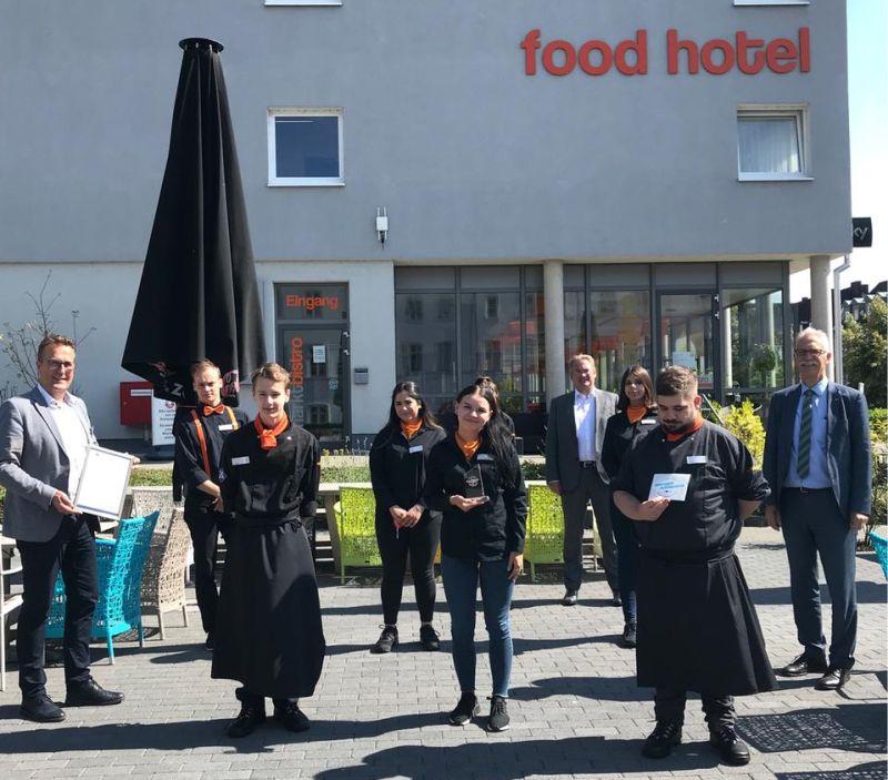 Gastronomie-Betriebe erhalten Auszeichnung für besonderes Engagement