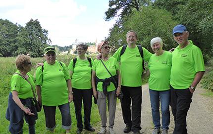 Siegperle schloss neue Wanderfreundschaften im Oberpfälzer Wald
