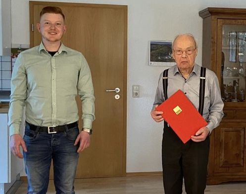 Horst Kapp seit 50 Jahren engagierter Sozialdemokrat