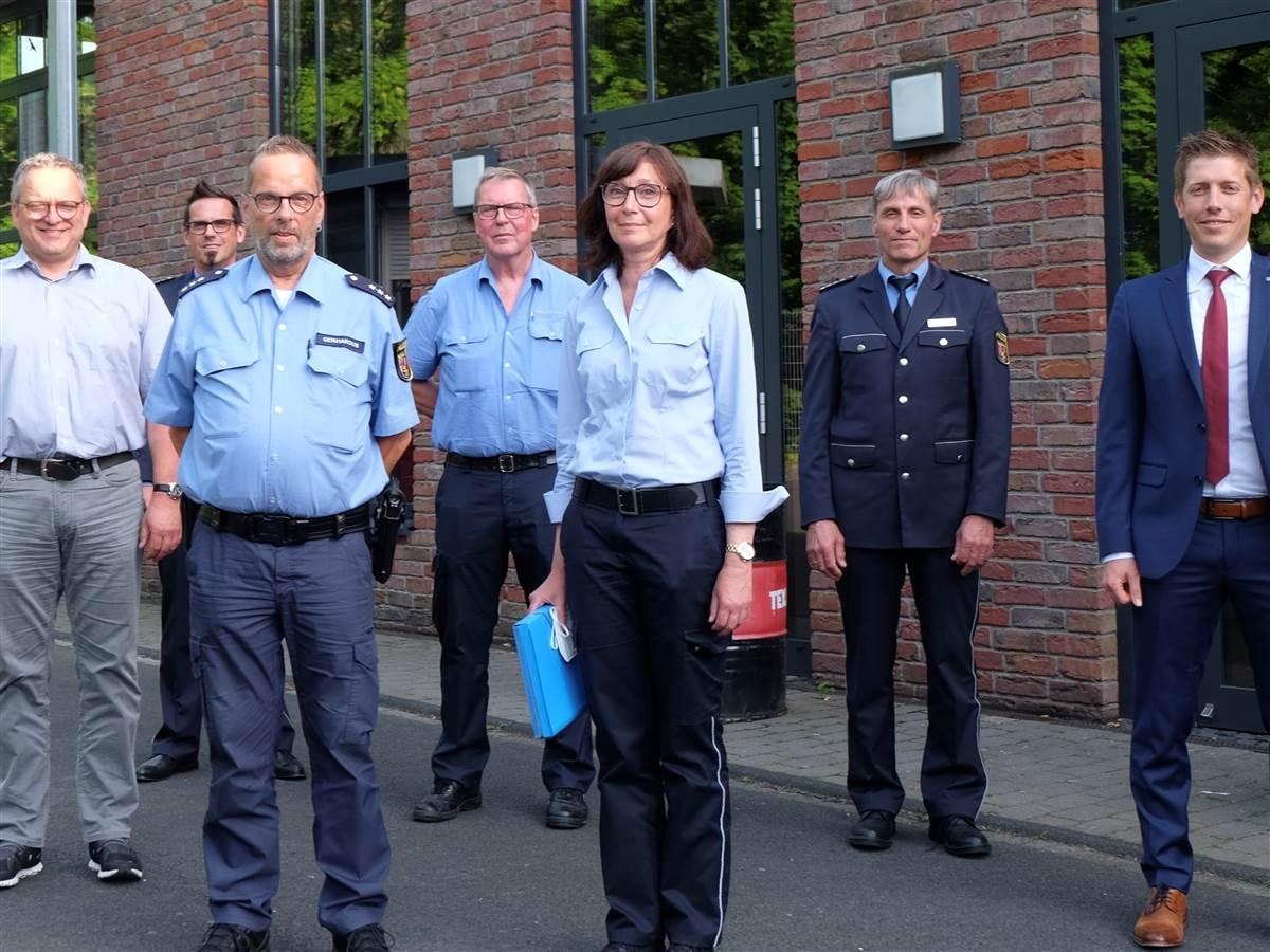 Kriminalitätsbelastung im Wisserland unterdurchschnittlich