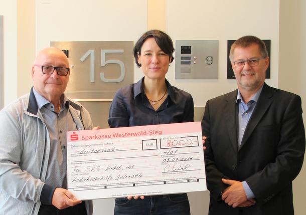 Gelaufen, gebacken, gespendet: 3.000 Euro für die Kinderkrebshilfe