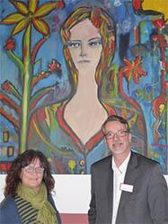 Bilder von Jürgen Liesenfeld in der Senioren-Residenz Linz
