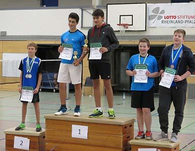 Badminton-Jugend aus Betzdorf und Gebhardshain erfolgreich