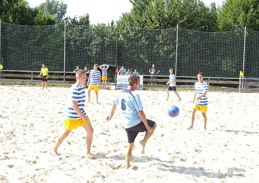 DFB-Beachsoccer-Regionalentscheid in Dernbach