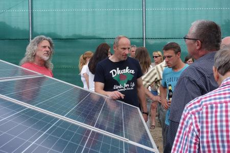 Solarpark Wölferlingen offiziell eröffnet
