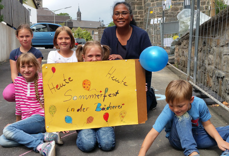 Sommerfest in der Gebhardshainer Lesestube