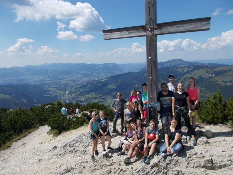 Erlebnispädagogische Sommerfreizeit mit Klettersteig