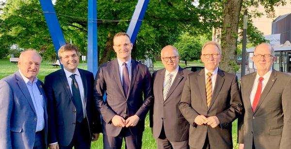CDU-Gesundheitsdelegation traf Minister Jens Spahn