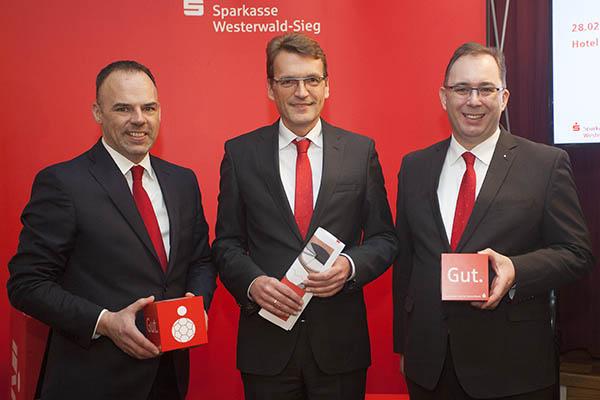 Sparkasse Westerwald-Sieg verzeichnet kräftiges Wachstum