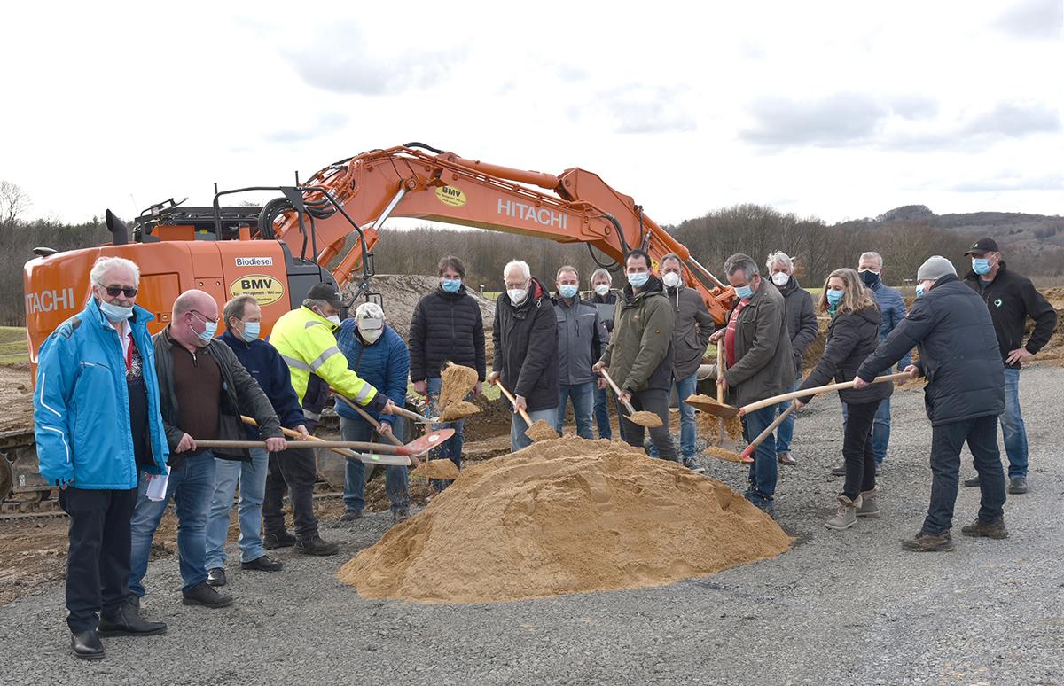 Bauarbeiten für Bauhof in St. Katharinen gestartet