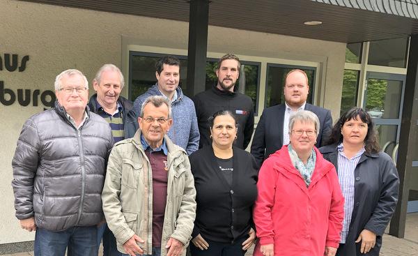 SPD Kirchen besichtigte Bürgerhaus in Freusburg