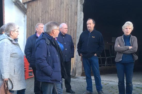 Vielfalt gefragt: SPD besuchte Heinrichshof in Burglahr