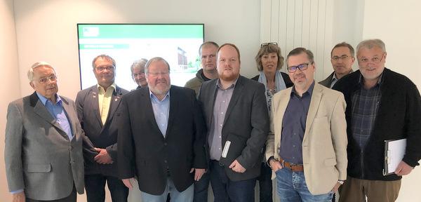 SPD besuchte Modulbauer in Friesenhagen