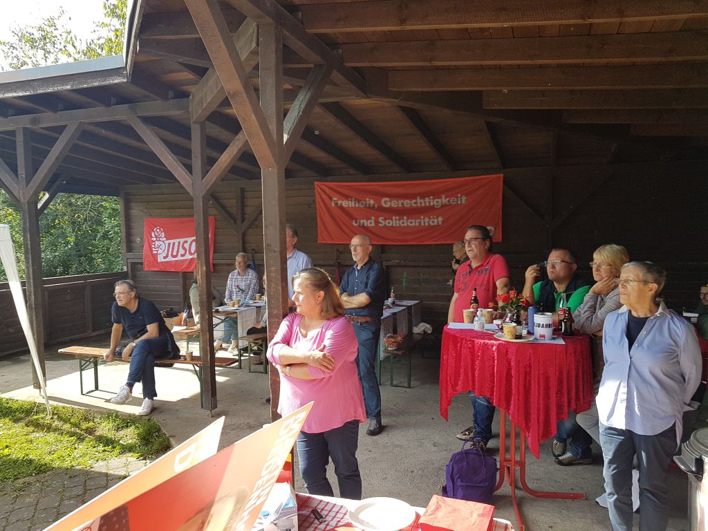 SPD-Sommerfest: Spende an Flutopfer