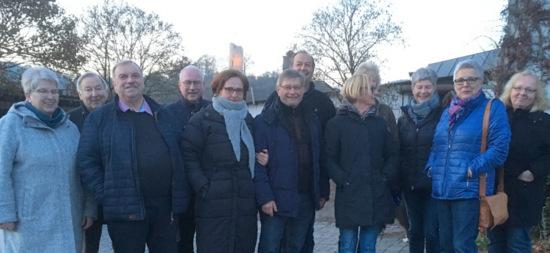 Kommunalpolitiker der SPD auf Visite in Burglahr