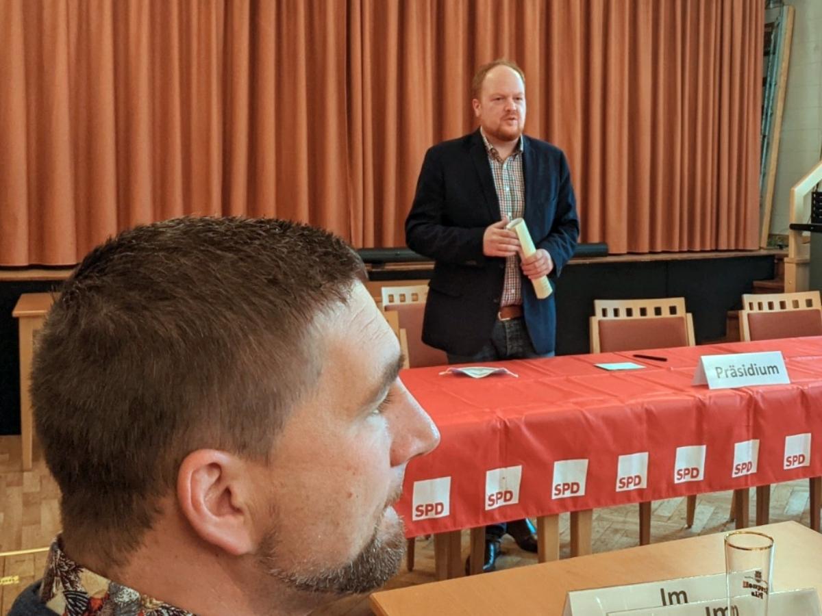 SPD-Kreisvorsitz Altenkirchen: Gibhardt übernimmt von Hundhausen