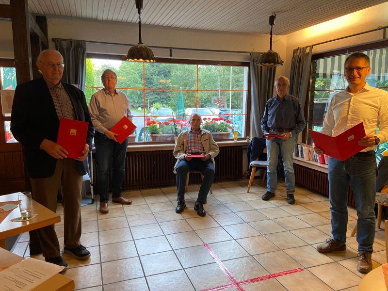 Insgesamt 190 Jahre aktiv für die SPD