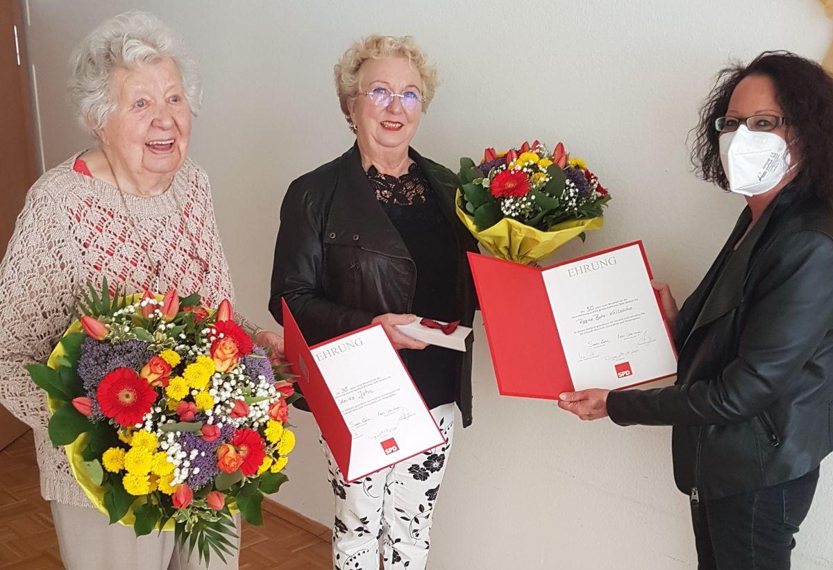 SPD Wirges ehrt Mutter und Tochter gemeinsam