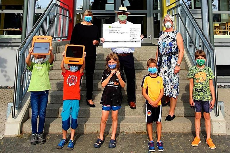 Wählergruppe Demokratie vor Ort Erpel (DvOE) spendet 1.000 Euro