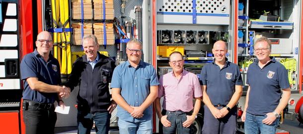 Hammer CDU-Fraktionen unterst�tzen F�rderverein der Feuerwehr