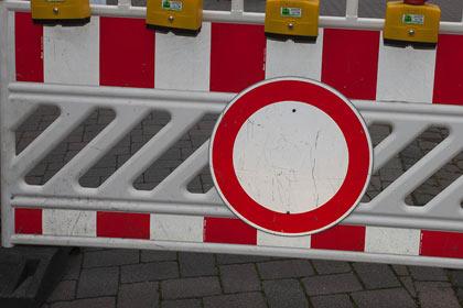 Verkehrsbehinderungen an Karneval in Wehbach