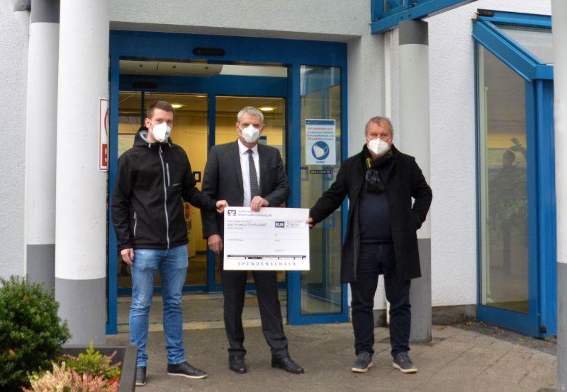 2.500 Kilometer Sponsorenlauf für St. Vincenz-Krankenhaus