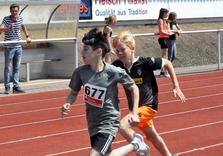 Am 7. Mai geht es im Hammer Stadion um Wettkampfpunkte beim Kreisjugendsportfest. (Foto: kkö/Archiv AK-Kurier)