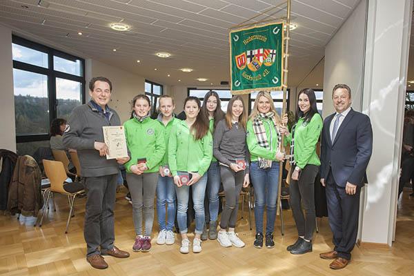 Jugendmannschaft vom RV Kurtscheid geehrt