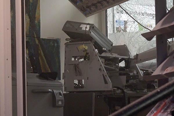 H�hr-Grenzhausen: Geldausgabeautomat gesprengt
