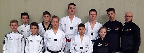 Taekwondo-K�mpfer besiegten starke internationale Konkurrenz