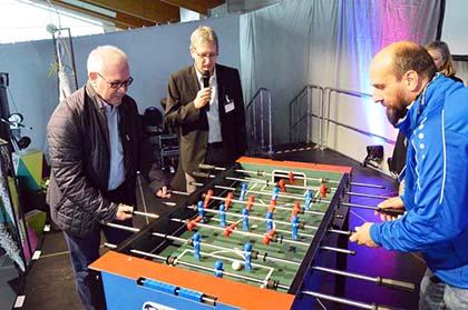 Sportpark Altenkirchen stellte neue Möglichkeiten vor