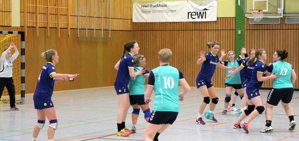 Die gute Deckungsarbeit war zu Beginn des Spiels gegen Rhein-Nette der Schlüssel zur zwischenzeitlichen 5:0-Führung. (Foto: SSV95 Wissen)