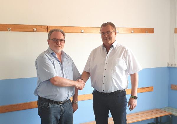 Stadion Wissen: Umkleiden durch VfB-Spieler instand gesetzt