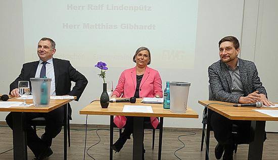 Bewerbertrio befragt: Altenkirchener Stadtb�rgermeisterkandidaten diskutierten