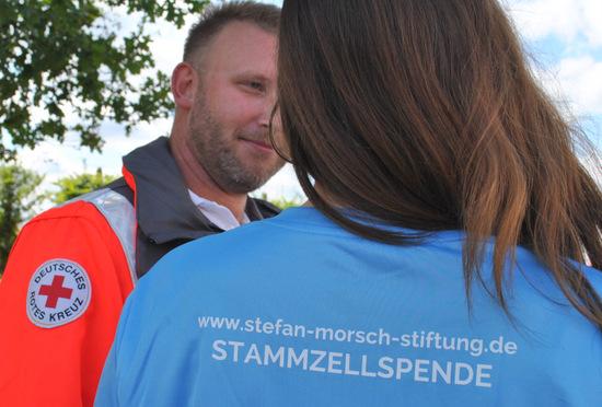 Typisierungsaktion für Stammzellenspende in Mudersbach