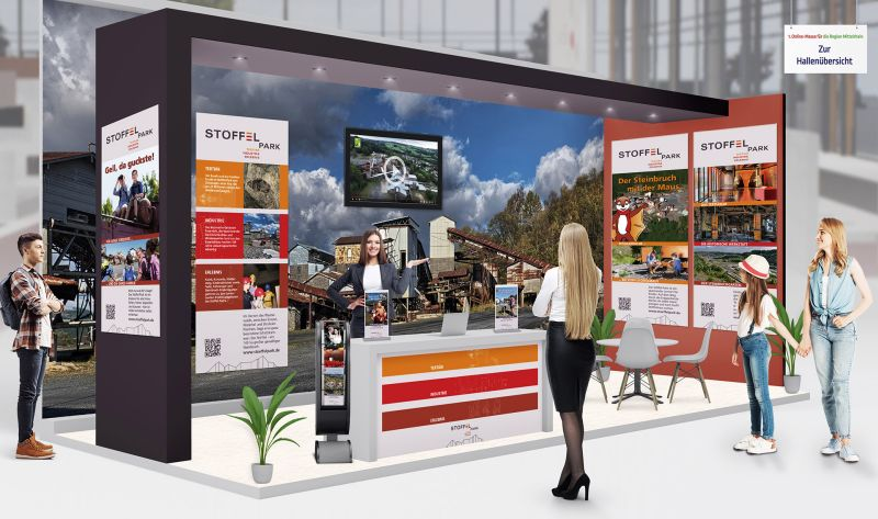 Stöffel-Park und WällerLand auf der Online-Messe