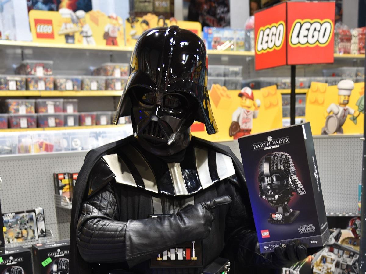 Zwischen Cosplay und Lego besteht ein Zusammenhang. (Alle Fotos: Uwe Schumann)
