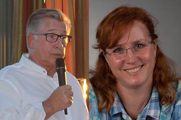 Ulrike Puderbach und Gerhard Starke lesen beim VdK in Urbach