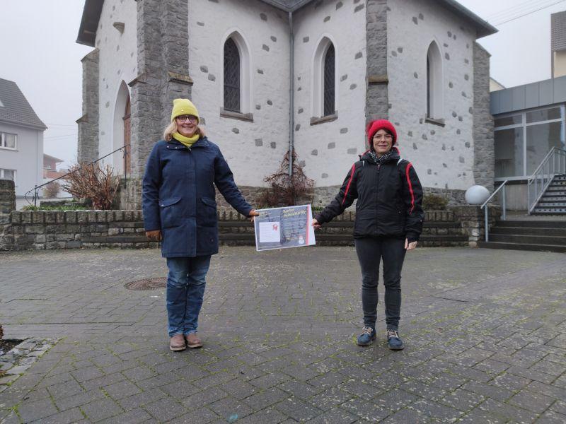 Bildunterschrift: Judith Hildesheim und Iris Selbach freuen sich über viele Teilnehmer der Weihnachtsrallye. Foto: privat