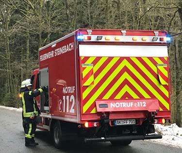 Waldarbeiter bei Aufräumarbeiten nahe Fensdorf verletzt
