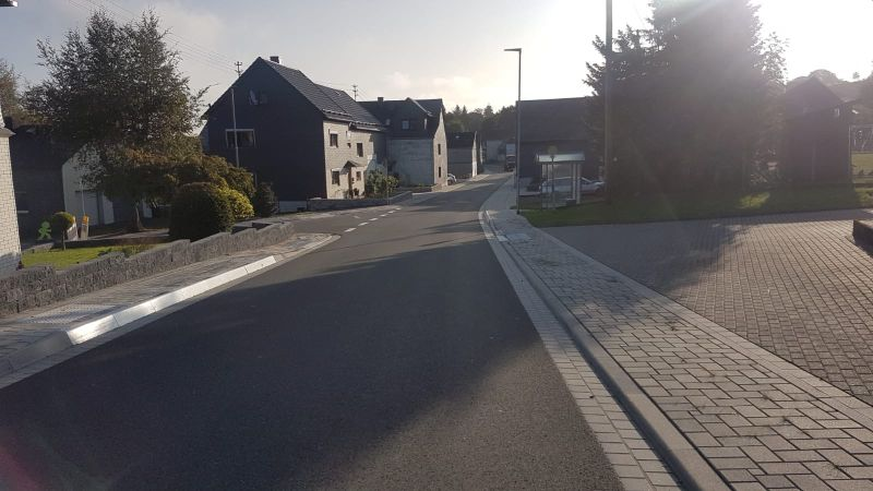 Fertigstellung der Baumaßnahme K34 Ortsdurchfahrt Stein-Neukirch