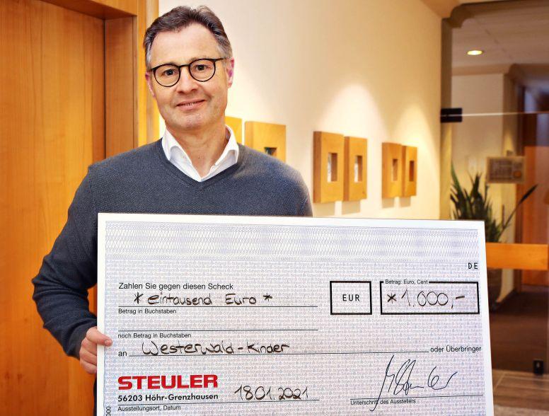 """Steuler unterstützt Projekt """"Westerwald-Kinder"""""""