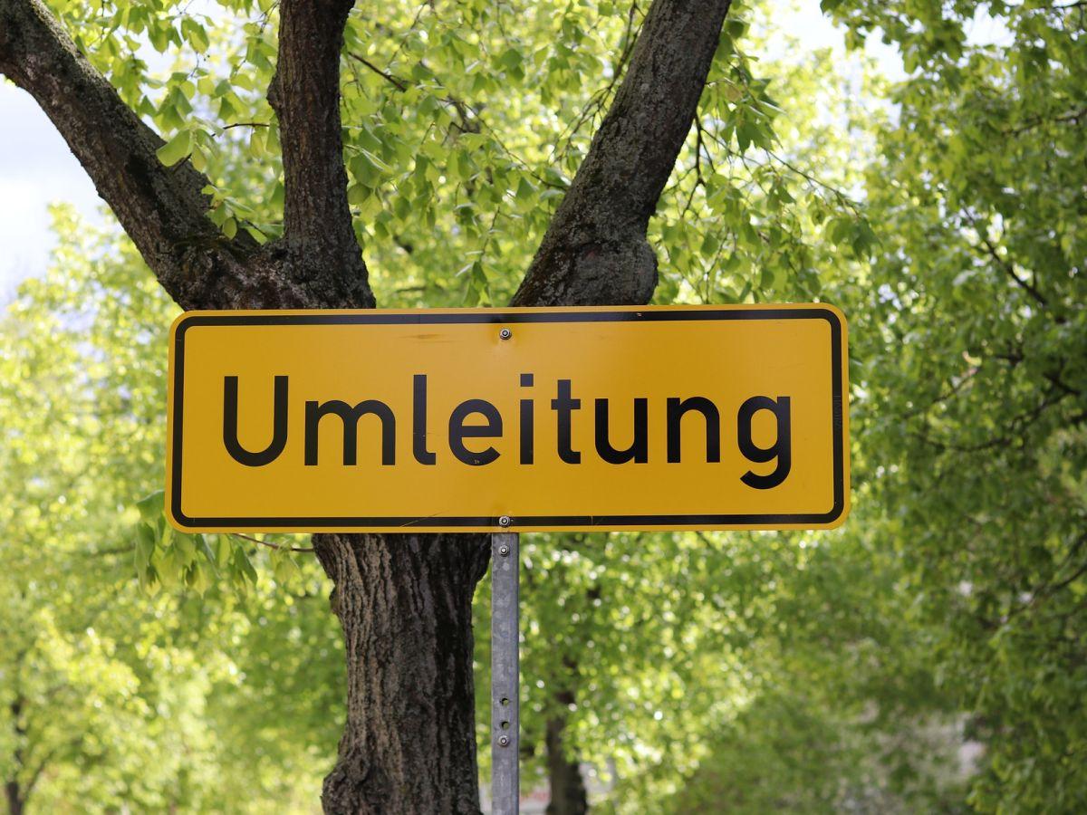 Ortsdurchfahrt Nisterberg bis 25. August gesperrt