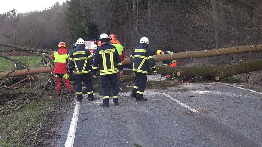 Sturm- und Orkanböen werden auch den Westerwald nicht verschonen