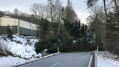 Unwettereinsätze in der Verbandsgemeinde Daaden-Herdorf