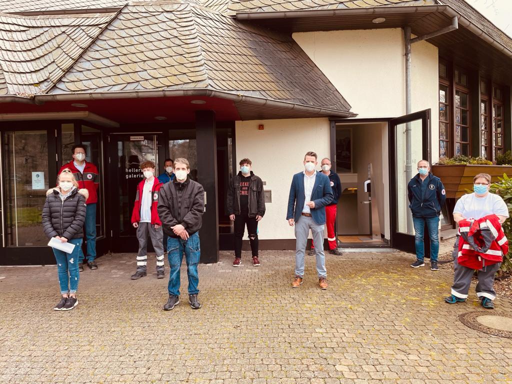 Ab Mittwoch, 21. April: Corona-Schnelltestzentrum in Stadthalle Betzdorf