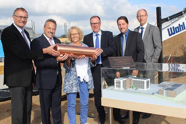 Neues Verwaltungsgebäude der Süwag in Bonefeld